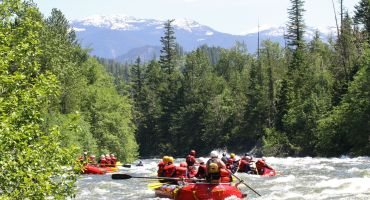 1-3 Nights Camping & Rafting