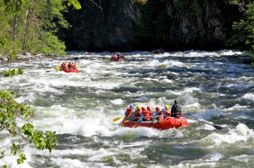 Heads Up for Headwall Rapid