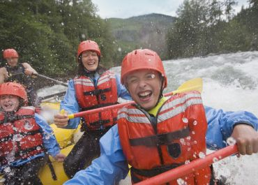 The Fogelman Family Rafting
